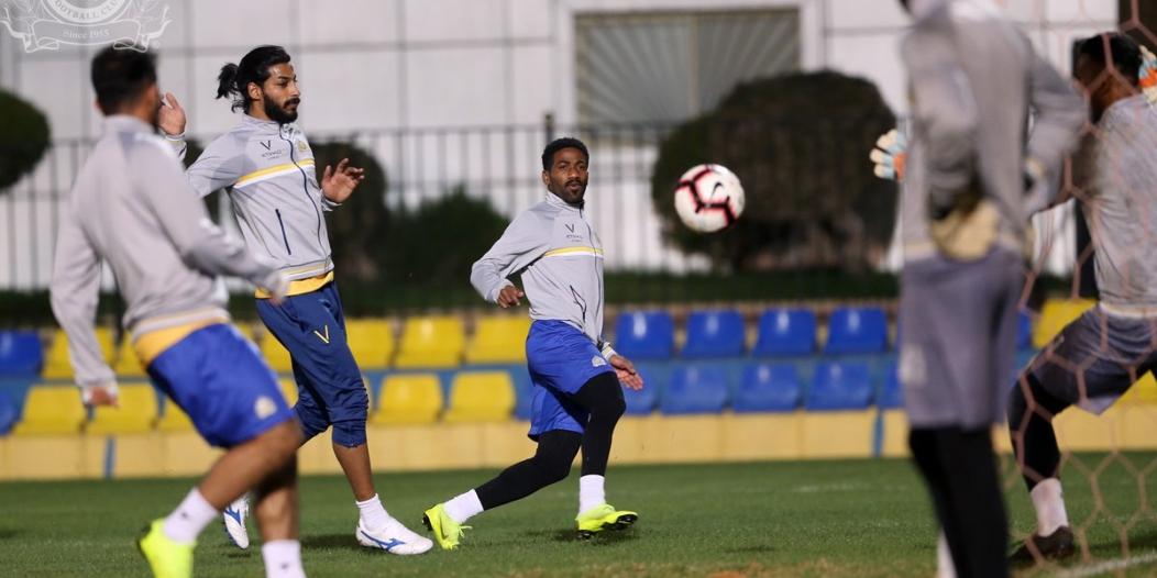 #النصر يختتم تدريباته.. ويُغادر إلى الجوف غدًا
