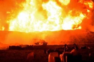 ارتفاع ضحايا انفجار خط أنابيب المكسيك إلى 89 قتيلاً - المواطن