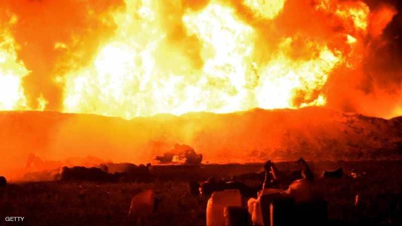 ارتفاع ضحايا انفجار خط أنابيب المكسيك إلى 89 قتيلاً