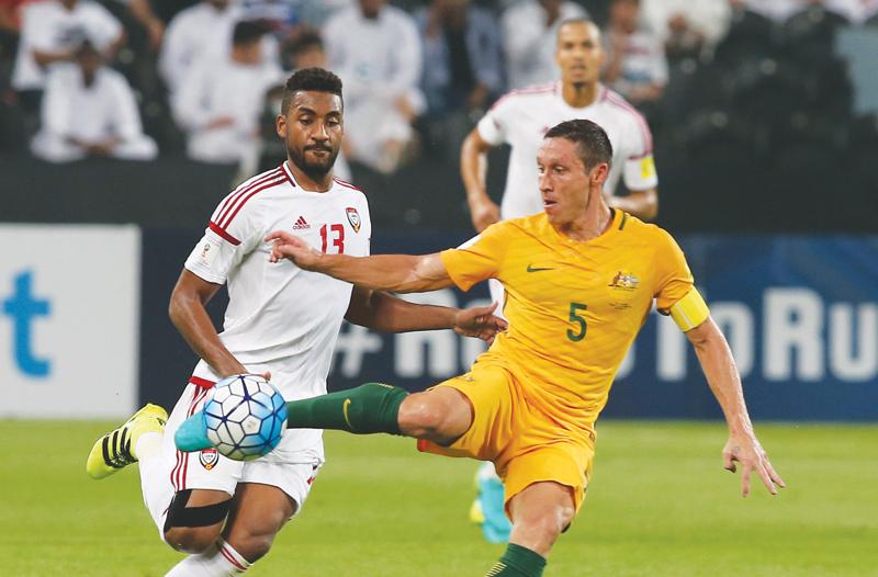 لقاء الإمارات وأستراليا .. الأبيض يرفع شعار الثأر ردًّا على إقصاء 2015