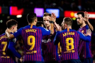 برشلونة ضد إيبار .. سواريز وميسي يقودان البارسا للفوز بثلاثية - المواطن