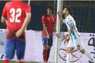 بيراميدز والاهلي في الدوري المصري 1