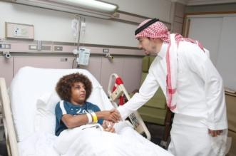 رئيس النادي الأهلي يزور النمر - المواطن