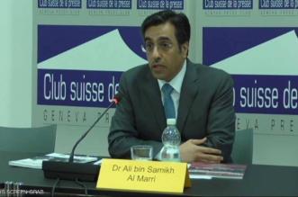فضح رئيس اللجنة الوطنية لحقوق الإنسان في قطر أمام الكاميرات بجنيف - المواطن