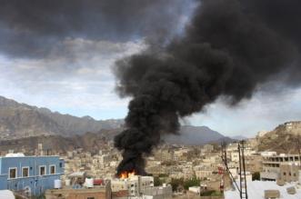مقتل حوثيين بقصف على تعز.. ومجزرة للانقلابيين في المدينة - المواطن