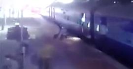 فيديو.. إنقاذ امرأة سقطت تحت القطار بأعجوبة - المواطن