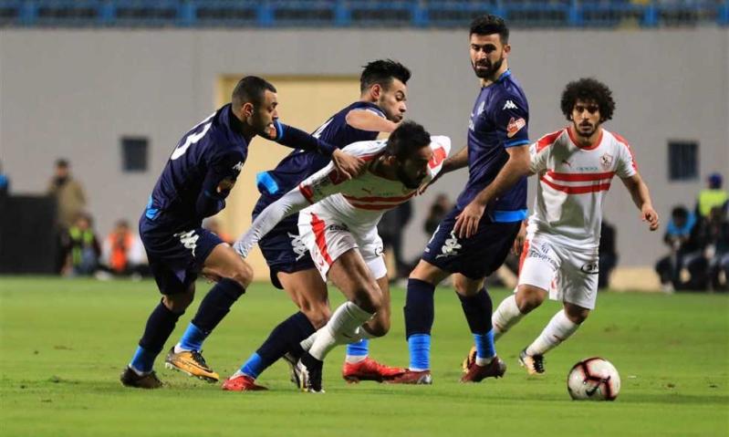 الدوري المصري .. تعادل مثير بين الزمالك وبيراميدز
