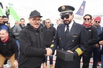 صور.. مطار نيوم يستقبل أول رحلة جوية على متنها 130 موظفا في المشروع - المواطن
