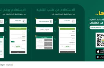 وزارة العدل تتيح خدمات الاستعلام عن طلبات التنفيذ إلكترونيًا - المواطن