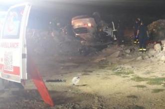 3 وفيات و5 إصابات من عائلة واحدة في انقلاب سيارة بجدة - المواطن