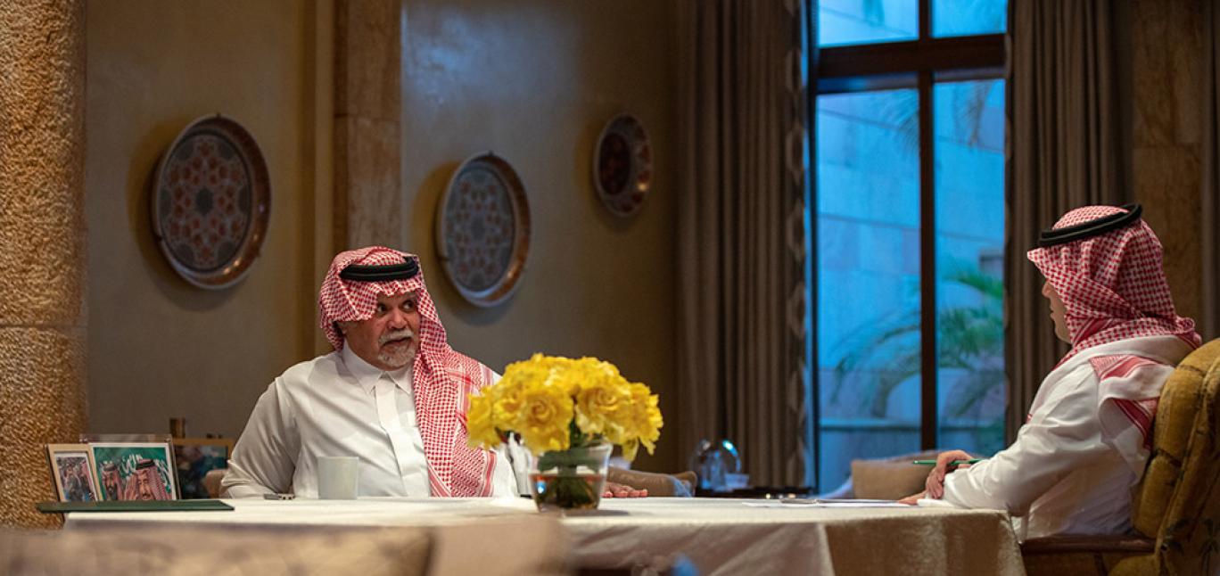 في أول حوار تصافح به الإندبندنت عربية قراءها بندر بن سلطان حمد بن جاسم خبير نصف الحقيقة صحيفة المواطن الإلكترونية