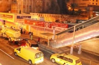 صور.. اشتعال الحريق بمحل تجاري في حي الروضة بمكة المكرمة - المواطن