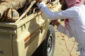 مصادرة 15 طنًا من الحطب في محايل - المواطن