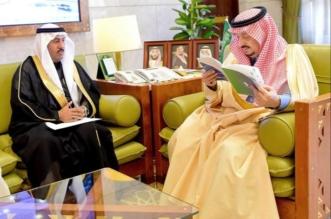 فيصل بن بندر يجتمع برئيس وأعضاء جمعية إعلاميون في قصر الحكم - المواطن