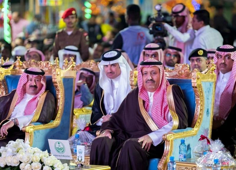 صور.. افتتاح فعاليات مهرجان ربيع الباحة بالمخواة