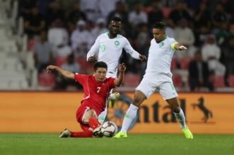 مباراة السعودية وكوريا الشمالية