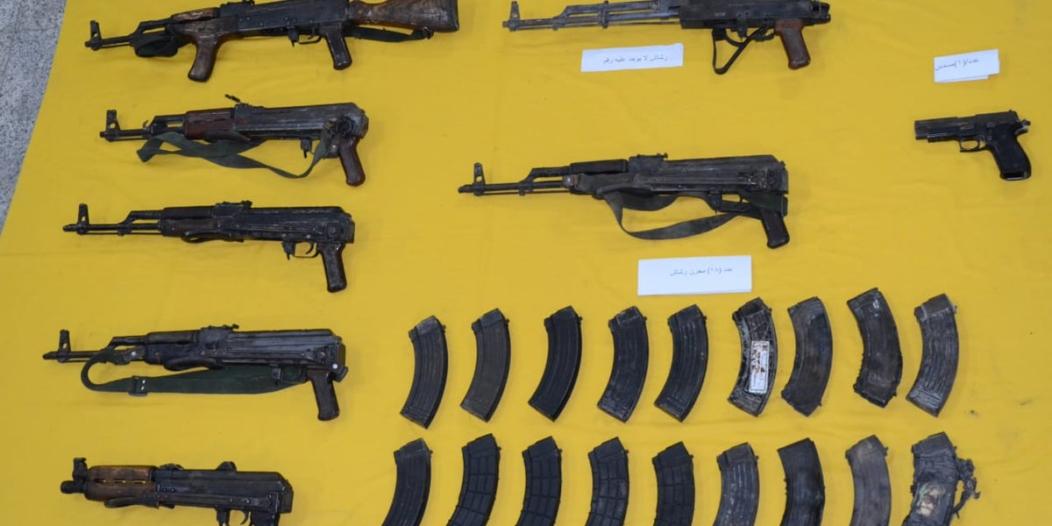 صور .. هذا ما عثر عليه رجال الأمن بحوزة خلية القطيف الإرهابية