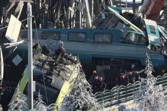 تحطم قطار في تركيا وأنباء عن وقوع إصابات - المواطن