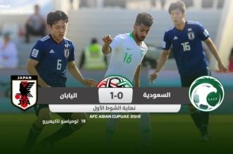 مباراة السعودية واليابان .. الساموراي يُنهي الشوط الأول متفوقًا بهدف - المواطن