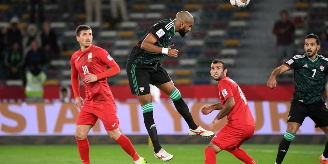 كأس آسيا 2019 .. الإمارات تخطف بطاقة العبور لدور الـ8 بثلاثية في قيرغيزستان