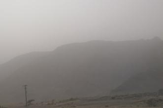 غبار يعيق الرؤية ورياح رعدية ممطرة على 9 مناطق - المواطن
