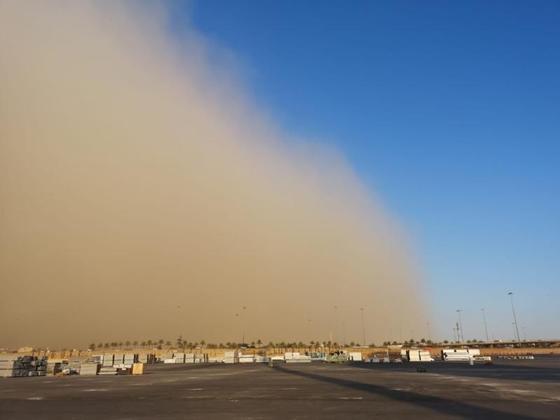 الأرصاد : موجة غبار تداهم 6 مناطق