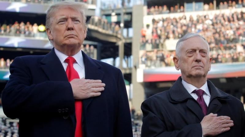 ماتيس في آخر رسالة للجيش الأميركي: قفوا إلى جانب الحلفاء