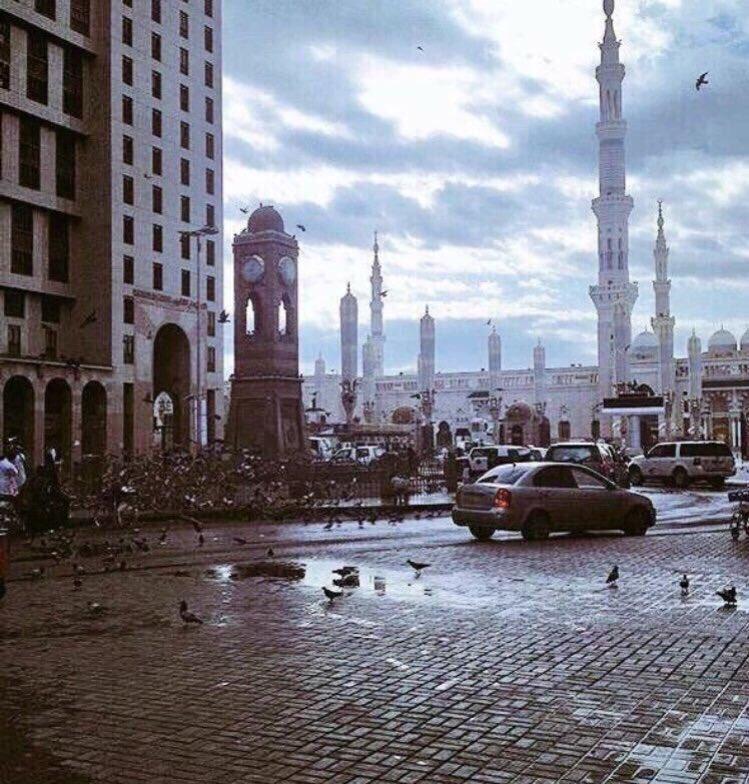 الإنذار المبكر : سيول وتدني الرؤية في المدينة