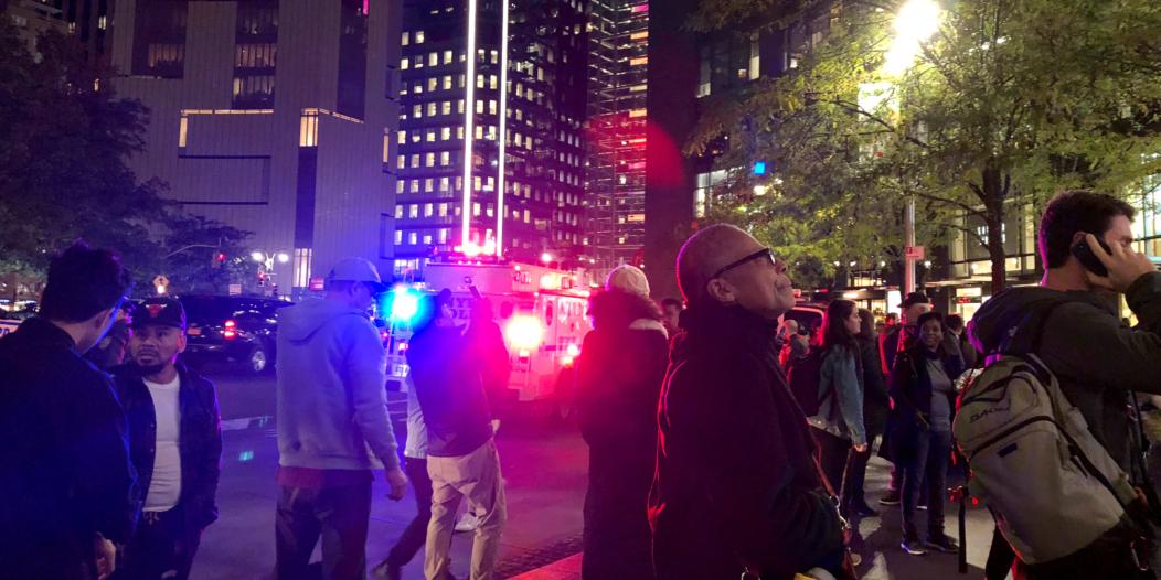 إصابة امرأة وطفل جراء إطلاق نار بميدان تايمز سكوير في نيويورك