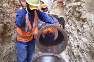 اكتمال مشروع توصيلات الصرف الصحي وتشغيلها بحي الصفا 4 في جدة - المواطن
