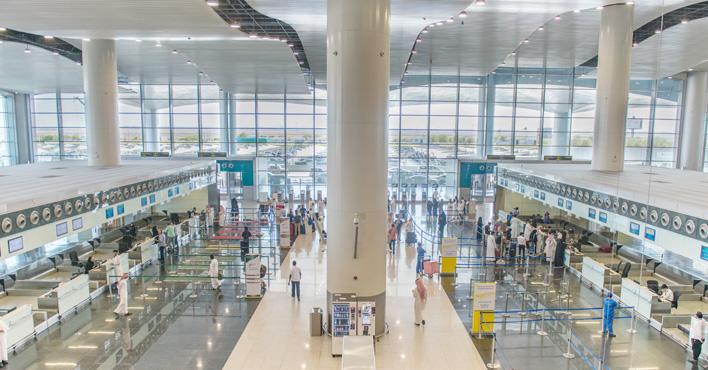 فيديو.. مطار الملك خالد: الزموا بيوتكم علشان نشوفكم قريب