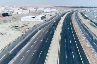افتتاح الحركة المروريةفي طريق الموت جامعة جدة بعد إعادة تأهيله - المواطن