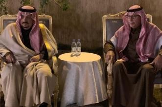 أمير الرياض يقدم واجب العزاء لأسرة السديري - المواطن