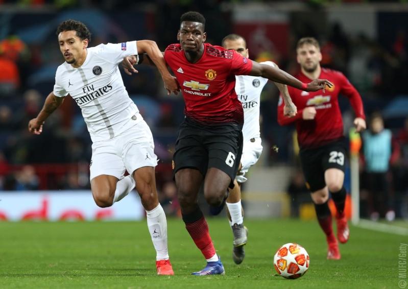 Man Utd Vs Psg: Man United Vs Psg .. قذيفتان من بطل فرنسا تُسقط اليونايتد