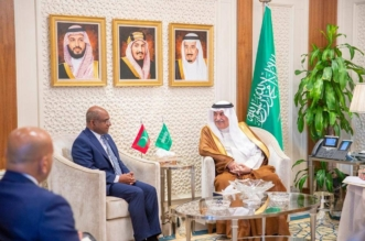 العساف يبحث العلاقات والموضوعات المشتركة مع وزير خارجية المالديف - المواطن