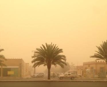 غبار وأتربة على المدينة المنورة ونجران   صحيفة المواطن الإلكترونية