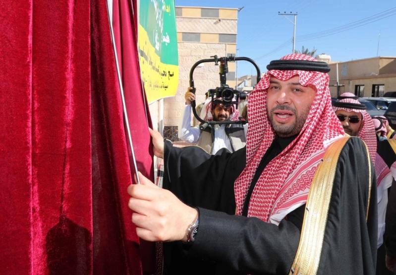أمير الشمالية يتفقد جامع الأمير سلطان بن عبدالعزيز في رفحاء