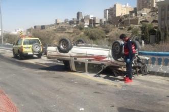 شاهد الصور..حادث دهس مروع يخلف ثلاث إصابات بالقرى - المواطن