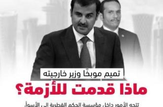 تميم موبخاً وزير خارجيته.. ماذا قدمت للأزمة؟ - المواطن