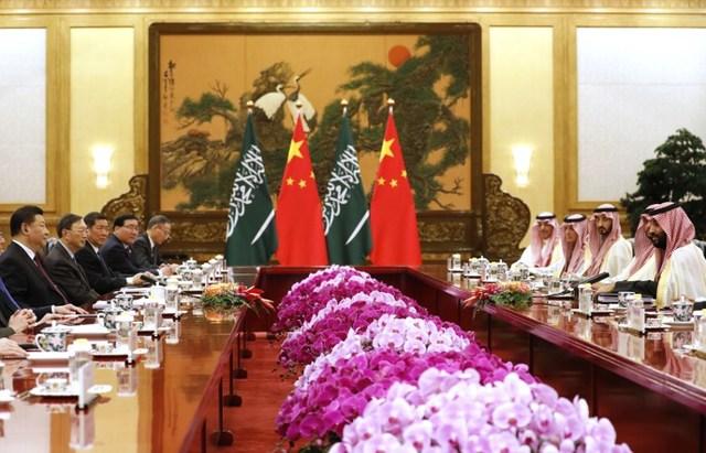 صفقة أرامكو تستحوذ على اهتمام الأمير محمد بن سلمان والرئيس الصيني