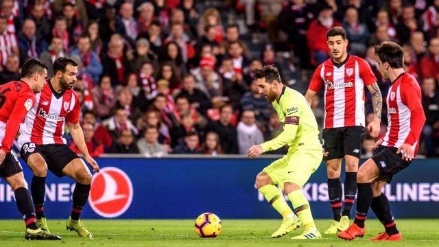 أتلتيك بيلباو ضد برشلونة
