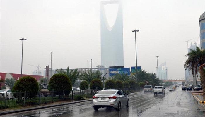 أمطار رعدية وغبار وزخات من البرد على 7 مناطق.. غدًا