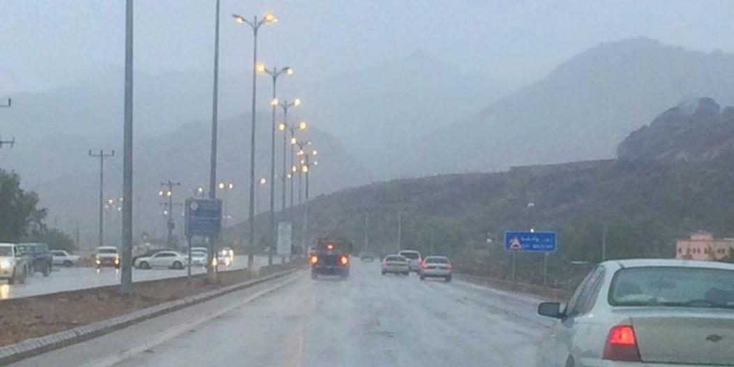 تحذير من أمطار نجران: تستمر حتى التاسعة