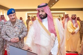 الأمير محمد بن سلمان يضع حجر الأساس لمشروع إنشاء مركز الحرب الجوي - المواطن