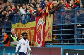 الجبل الأسود ضد إنجلترا .. يويفا ينتفض بسبب الهتافات العنصرية - المواطن