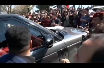 فيديو.. الرئيس العراقي يتعرض لمحاولة اعتداء في الموصل - المواطن