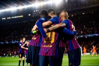 دوري أبطال أوروبا .. برشلونة يكتسح ليون بخماسية.. ويتأهل لربع النهائي - المواطن