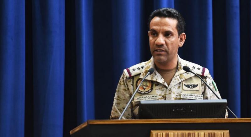 التحالف ينفي مزاعم ميليشيا الحوثي باستهداف حي سكني في صنعاء