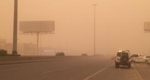 الغبار يضرب 3 مناطق غداً مع أمطار رعدية