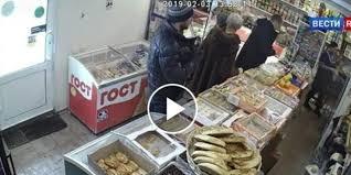 فيديو.. لص ينال عقابًا قاسيًا لحظة سطوه على سوبر ماركت - المواطن